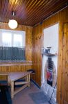 The Sauna building: a room for max 5 persons and a kitchenette